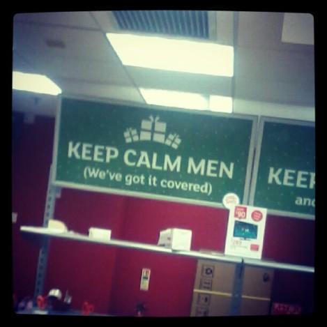Anyone else getting very sick and tired of seeing posters of keeping calm?