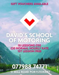 davids school of motoring quarter june