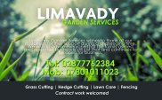 Limavady Garden Services half page APR