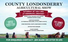 londonderry agricultural show half page