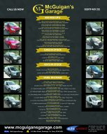Mcguigans motors APR full page