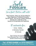 Sole footcare quarter